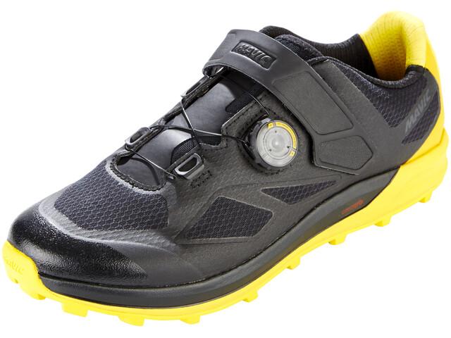 Mavic XA Pro Shoes Men Black/Black/Yellow Mavic